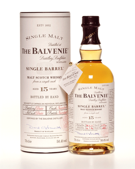 Balvenie 15 år. Single Barrel