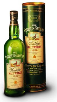 Famous Grouse vintage malt 1987