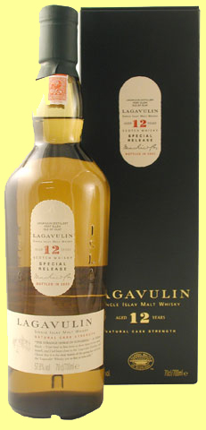 Lagavulin Cask Strength 12 år
