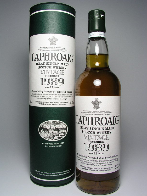 Laphroaig 1989 single cask